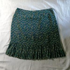 Worthington skirt with pleating at bottom hem 12P